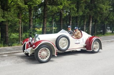 Er fährt souverän mit: Austro Daimler Torpedo Baujahr 1929. © Jutta Bernhard / mid