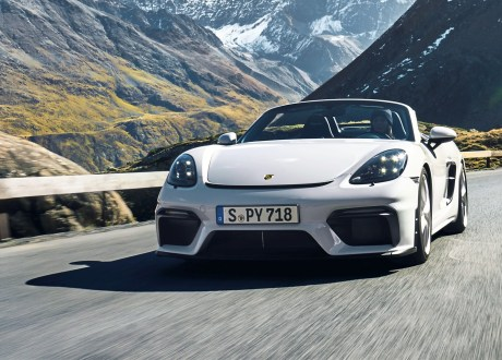 Porsche 718 Spyder. Foto: Auto-Medienportal.Net/Porsche