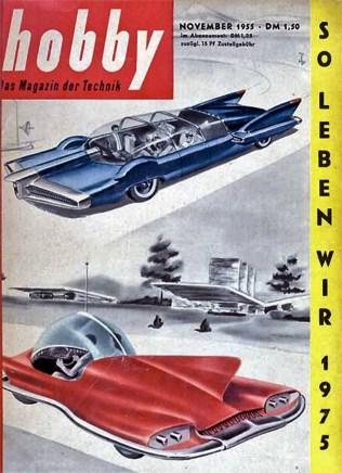 Hobby-Titel November 1955. Foto: Auto-Medienportal.Net/Ehapa-Verlag