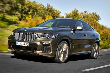 Wuchtig, aber nobel: der neue BMW X6 © BMW
