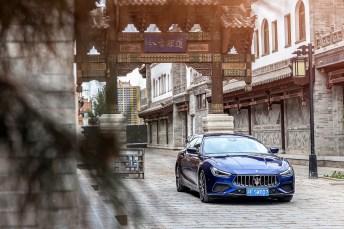 Ein Maserati Ghibli auf der Grand China Tour © Maserati