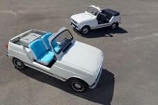 Alt und neu: der originale R4 Plein Air (im Hintergrund) und das neue Showcar. © Renault