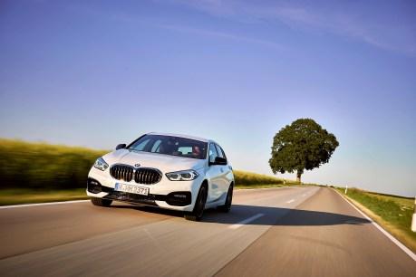 Revolutionär: Es gibt keinen Sechszylinder und auch keinen Dreitürer mehr für den kleinen Bayern. © BMW