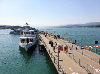 Bootstouren auf dem Zürichsee gehören zu den häufig genutzten Angeboten der Gäste. © Kurt Sohnemann