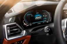 Lage-Informationszentrum: Auch die Reichweite für den rein elektrischen Betrieb ist abrufbar. © BMW