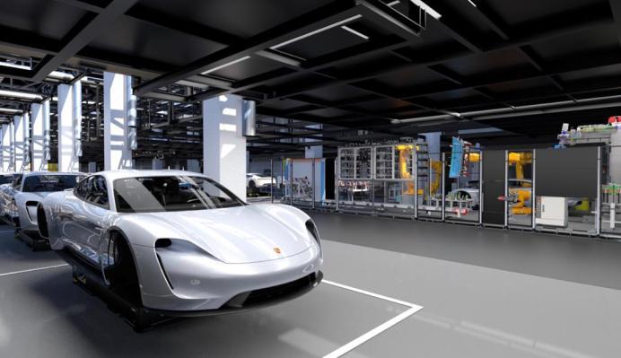 Für die Produktion des Taycan startet Porsche die größte Qualifizierungsoffensive der Unternehmensgeschichte. © Porsche