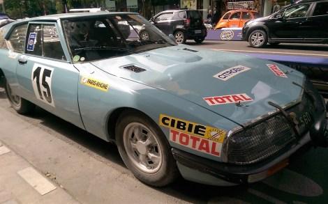 Der Citroen SM auch im Rally-Sport ein Exote. © Lars Wallerang / mid