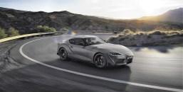 """Die auf 90 Fahrzeuge limitierte Erstserie A90 Edition in """"Storm Matte Grey"""" für 67.250 Euro ist leider schon ausverkauft. © Toyota"""