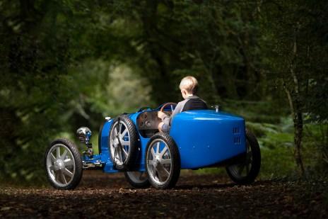 """Eigentlich kein Baby mehr: Der Bugatti """"Baby II"""" besitzt immerhin 75 Prozent der Größe des Originals. © Bugatti"""
