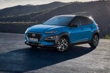 Hyundai hat den neuen Kona Hybrid in Frankfurt dabei. © Hyundai