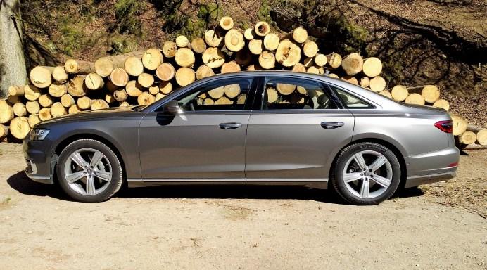 Der Audi A8 ist teuer. Ohne jegliche Sonderausstattung kostet er 90 600 Euro. © Ulrich Frank