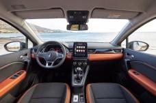 Rundum modern: Das Interieur des Renault Captur wirkt hochwertig, die Bedienung ist vergleichsweise einfach. © Renault