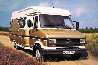 Das erste teilintegrierte Reisemobil aus Fockbek: Hobby 600.