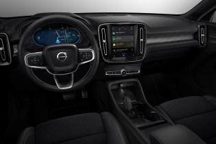 Der voll elektrische XC40 SUV mit dem neuen Infotainmentsystem – Volvos erstes Elektroauto. © Volvo