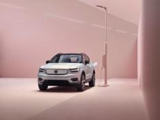 Der voll elektrische XC40 SUV – Volvos erstes Elektroauto. © Volvo