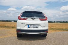 Die Signatur der Rückleuchten bei CR-V passt in die Honda-Familie. © Jutta Bernhard / mid