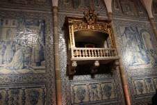 Typisch für portugiesischen Wandschmuck sind die dekorativen Kacheln. © Kurt Sohnemann