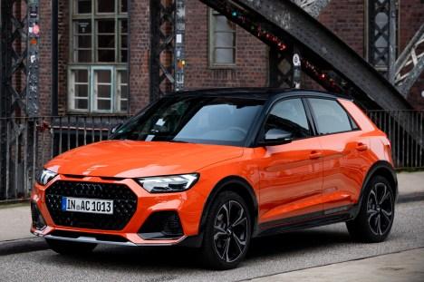 Der coole A1 citycarver passt zu Hamburg mit seinen vielen kleinen Start-up-Firmen. © Audi