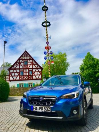 Die Höchstgeschwindigkeit des Subaru XV liegt bei 194 km/h. © Klaus H. Frank