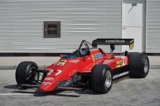 Ferrari 126 C2 (1982). Foto: Auto-Medienportal.Net/Sotheby's