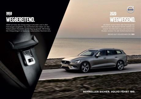"""""""Schneller sicher"""": Volvo Car Germany Sicherheitskampagne © Volvo"""