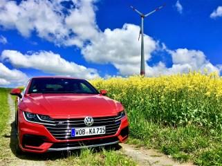 Der VW Arteon ist eine Diva – im Blechkleid. © Klaus H. Frank