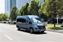 Bequem wie ein Pkw, der Ducato als Bus. © Fiat