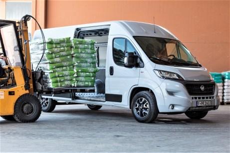 Kann nach Auflastung bis zu 5 Tonnen schleppen. © Fiat