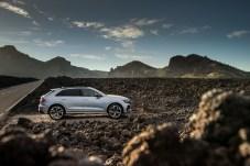 Auch im Stand sieht der RS Q8 sportlich und dynamisch aus. Audi bezeichnet ihn als SUV-Coupé. © Audi