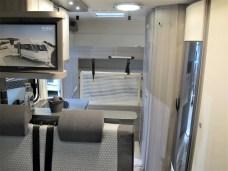 Zwei Stockbetten im Heck bietet der HOBBY OPTIMA ONTOUR T65 HKM