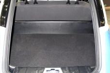 Glattflächiger Gepäckraum mit mehr Platz als im VW Up.