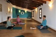 Die Vielfalt ständig wechselnder Yoga-Programme kann auf der Finca Son Manera genutzt werden. © Kurt Sohnemann