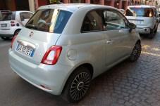 Im quirligen Stadtverkehr fühlt sich der Fiat Cinquecento wie daheim. © Rudolf Huber / mid