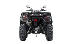 Auch die Heckansicht des neuen ATV-Modells MXU 550i T Offroad LOF von Kymco macht mächtig Eindruck. © Kymco