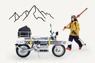 Sogar Halterungen für Skier können an der Ösa angebracht werden. © Cake
