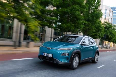 Koreaner aus Tschechien: Der Hyundai Kona Elektro mit der stärkeren Batterie und der höheren Leistung kommt ab sofort aus einem europäischen Werk. © Hyundai