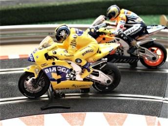 Moto-GP-Motorräder von Scalextric (Archivfoto). Foto: Auto-Medienportal.Net/Jens Riedel