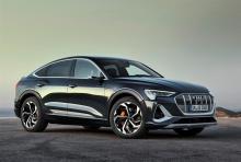 Der Audi e-tron Sportback 55 quattro. © Audi
