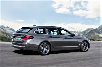 Der neue 5er BMW. © BMW