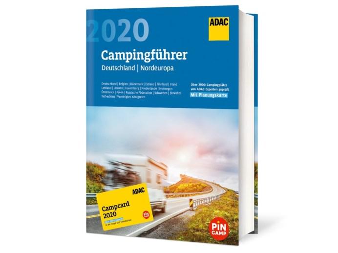 ADAC-Campingführer 2020 für Deutschland und Nordeuropa. Foto: Auto-Medienportal.Net/ADAC