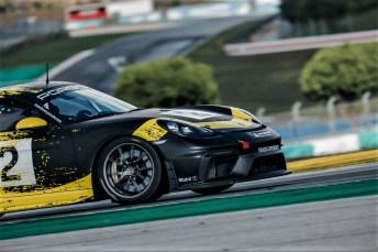 """""""Porsche Open Pitlane"""": Rennwagen wie der 718 Cayman GT4 Clubsport stehen als Mietfahrzeuge bereit. Foto: Auto-Medienportal.Net/Porsche Download:"""