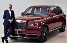 Torsten Müller-Ötvös, CEO Rolls-Royce Motor Cars am Rolls-Royce Cullinan. Foto: Auto-Medienportal.Net/Rolls-Royce