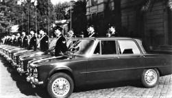 Alfa Romeo Giulia der Carabinieri in den 1960er- und 1970er-Jahren. Foto: Auto-Medienportal.Net/FCA