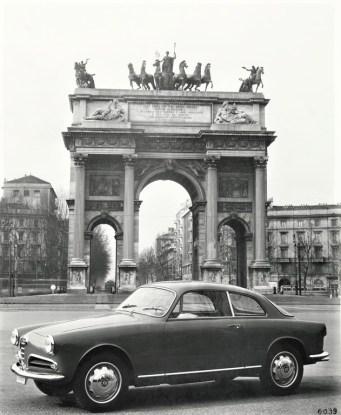 Alfa Romeo Giulietta Sprint (ab 1954). Foto: Auto-Medienportal.Net/FCA