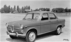 Alfa Romeo Giulietta (1955–1964) als Streifenwagen. Foto: Auto-Medienportal.Net/FCA