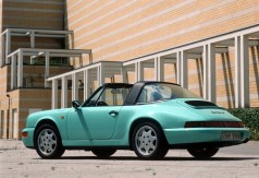 Porsche 911 Carrera 2 Targa (1990). Foto: Auto-Medienportal.Net/Porsche