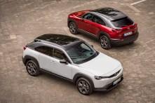 Der elegante und vielseitige Crossover rollt am 25. und 26. September 2020 in die Schauräume der deutschen Mazda Händler und startet zu Preisen ab 32.645,71 Euro. © Mazda