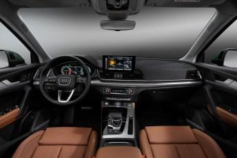Aus das Interieur des Erfolgs-SUV erhielt eine Auffrischung. © Audi