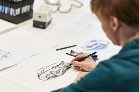 Startpunkt: Am Anfang wird erst einmal das Design festgelegt. © Skoda
