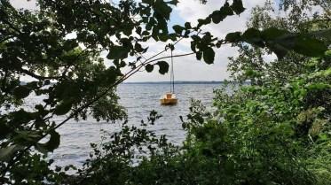 Boote gehören zur 5-Seen-Platte dazu wie Fische zum Wasser. © Kurt Sohnemann